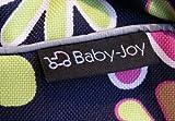 TK-40 Wickeltasche KIM von Baby-Joy XXXL Übergröße Braun Eule 6 Windeltasche Pflegetasche Babytasche Tragetasche - 3