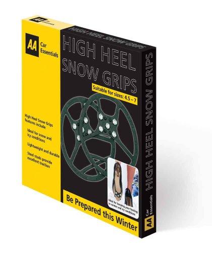 Preisvergleich Produktbild AA Car Essentials Schneeschuhe mit hohen Absätzen, Größe M