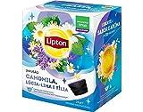 LIPTON - Infusion Kamille, Zitronenstrauch, Linde - DOLCE GUSTO Kompatibel Kapseln - 5 x 12 kapseln (gesamt: 60 Stück)