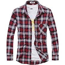 cheap for discount 382e5 c855e Amazon.it: camicia a quadri uomo - Multicolore