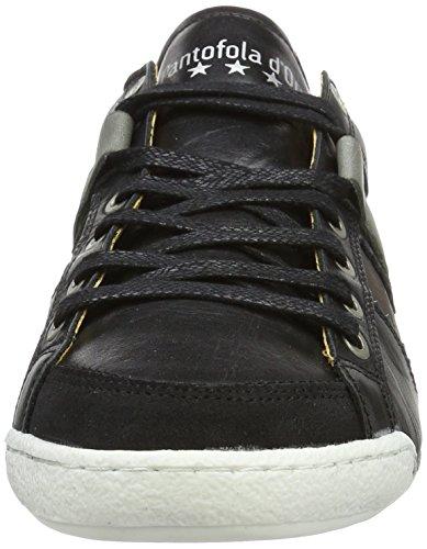 Pantofola d'Oro Herren Savio Romagna Uomo Low Sneaker Schwarz (Black)
