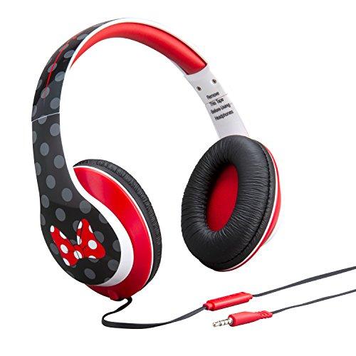 Minnie Mouse Kopfhörer mit kindersicherer Lautstärkeregelung (Minnie Mouse Mp3-player)