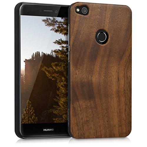 kwmobile huawei p8 lite (2017) cover - custodia protettiva in legno - back case posteriore per smartphone huawei p8 lite (2017)