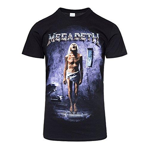 Megadeth Camiseta Oficial Album Countdown to Extinction (Negro)