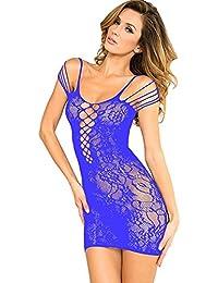 lingerie sexy erotique femme coquine dentelle ouverte robe
