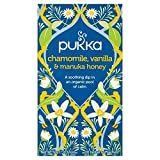 Pukka Teas Pukka Camomilla, Vaniglia E Miele Di Manuka Bustine 20 Per Confezione