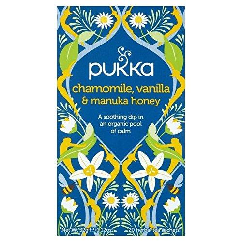 Price comparison product image Pukka Teas Camomile, Vanilla & Manuka Honey Bags Pukka 20per pack (6Pack)