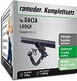 RAMEDER Komplettsatz, Anhängerkupplung abnehmbar + 13pol Elektrik für DACIA LODGY (113442-10162-1)