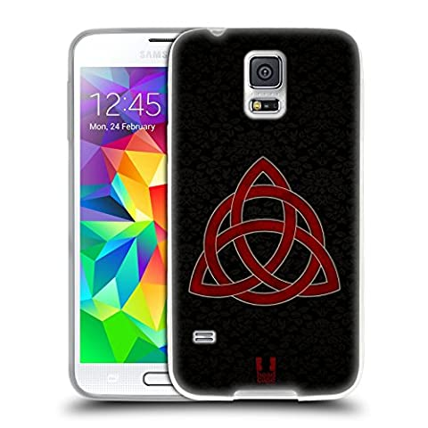 Head Case Designs Celtic Knot Symbolism Soft Gel Case for Samsung Galaxy S5 / S5 Neo