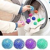 Sfere per asciugatrice in PVC Utensili puliti riutilizzabili Lavaggio della biancheria Asciugatura del tessuto Ammorbidente Sfera Lavaggio a secco Accessori Accessori Sfera di lavaggio, 5,5 cm