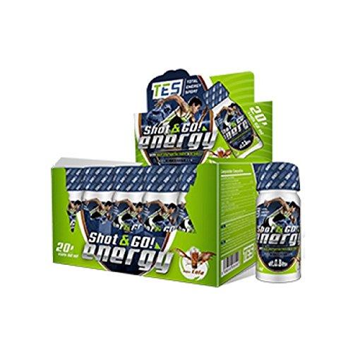 Total Energy Sport - Shot & Go! Energy - 20 viales