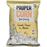 Propercorn - Popcorn « Smooth Peanut & Almond » - cacahuètes douces/amandes - 90 g