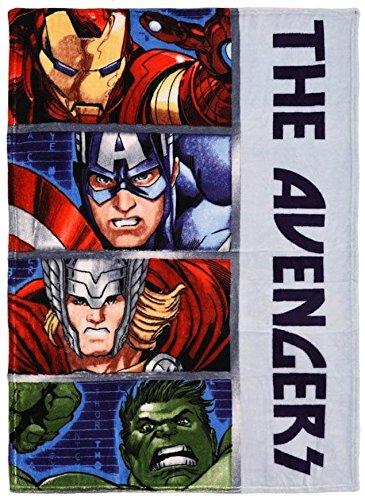 Avengers Plaid imprimé 90x120 cm