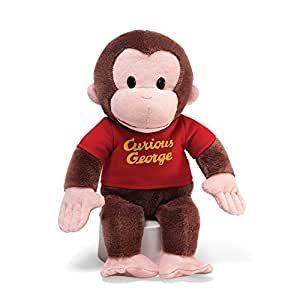 "Curious George Red Shirt: 12"" Plush"