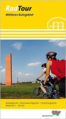RadTour Mittleres Ruhrgebiet: 1:40000 (Radtour Ruhr - Radwanderkarten)