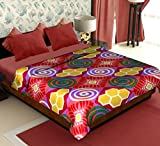 Story@Home Candy Warm and Soft Comfortable Polyester Double Bed Blanket - Red best price on Amazon @ Rs. 399