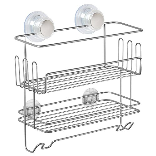 interdesign-turn-n-lock-2-tier-suction-shower-caddy-combo-basket-for-shampoo-conditioner-soap-razors