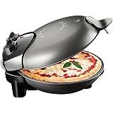 Macom Pizza Amore - Horno individual para pizza, 1150 W, color negro