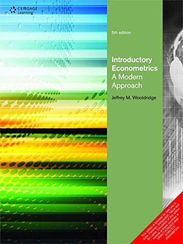 Introductory Econometrics: A Modern Approach, 5th ed.