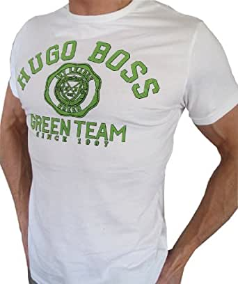 Hugo Boss Green Herren T-Shirt - Wei§ - Neue Kollektion 2013, XL