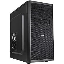 NOX NXCBAYMX - Caja de ordenador torre Micro ATX, color negro