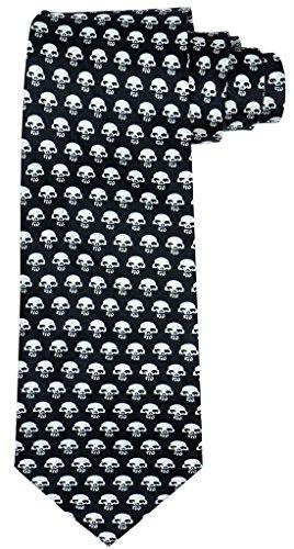 ociar-craneo-de-halloween-de-corbata-para-hombres-ea07-original