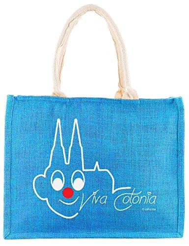 inhoma-koln-strand-tasche-shopper-aus-jute-in-blau-motiv-kolner-dom-viva-colonia-leichte-grosse-falt