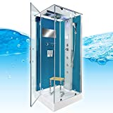 AcquaVapore DTP6038-2102L Dusche Dampfdusche Duschtempel Duschkabine 100x100, EasyClean Versiegelung der Scheiben:2K Scheiben Versiegelung +99.-EUR - 7