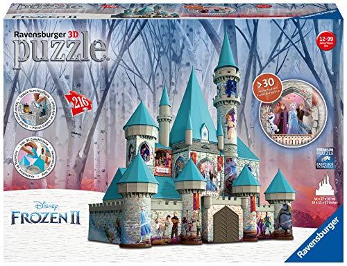 Ravensburger frozen ice castle 3d puzzle, multicolore, 11156