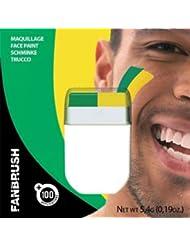 Maquillage vert et jaune - Taille Unique