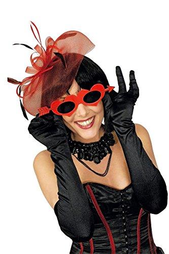 Kostüm Zubehör Spaßbrille Brille Amor Pfeil Karneval Fasching Party (Amor Kostüm Zubehör)