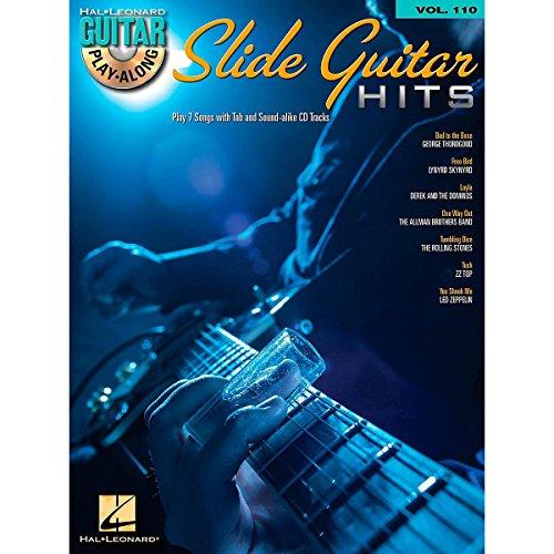 Guitar Play Along Volume 110: Slide Guitar Hits. Partitions, CD