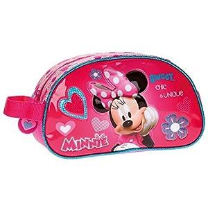 Disney Minnie Fabulous Neceser de Viaje, 24 cm, 3.36 litros, Rosa
