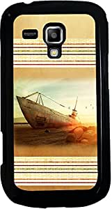 PrintVisa 2D-SGS3Mini-D8125 Travel Beach Boat Case Cover for Samsung Galaxy S3 Mini I8190