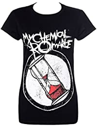 Official Skinny T Shirt My Chemical Romance ~ HOURGLASS Logo S 8