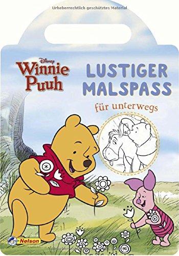 Disney Winnie Puuh: Lustiger Malspaß für (Pooh Bär Und Ferkel)