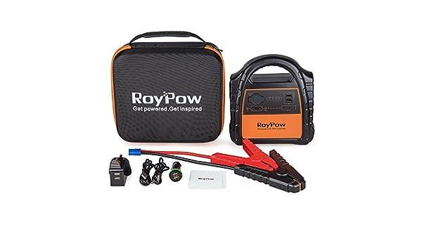 RoyPow Portable Car Jump Starter, Car Battery Starter