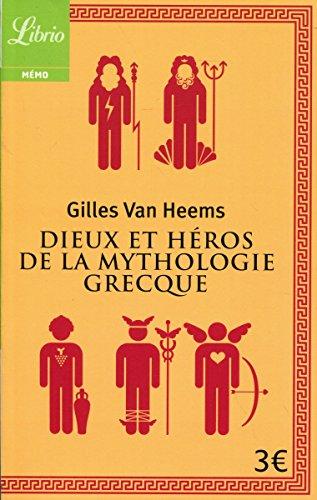 Dieux et heros de la mythologie grecque (Librio Mémo)