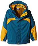 Jack Wolfskin Jungen 3-in-1 Jacke Boys Topaz Winter Jacket, Moroccan Blue, 116, 1604701-1800116