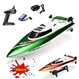 HSP Himoto XL Speedboot Pro 2.4GHz - RC ferngesteuertes Boot mit 2,4GHz und vollproportionale Fernsteuerung, Schiff-Modell mit Top-Speed über 30km/h, Racingboat, Ready-to-Run, Top-Design, Neu