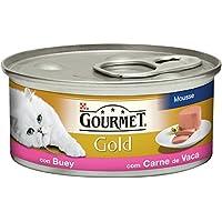 Gourmet Gold, Cibo per Gatti, Mousse con Manzo - 85 g