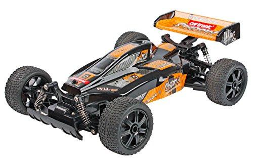 Cartronic 42972 - RC High Speed Buggy Shadow Striker Outdoor, Ferngesteuertes Modellfahrzeug im Maßstab 1: 10, mit Offroad-Bereifung, Maximal 20 km/H