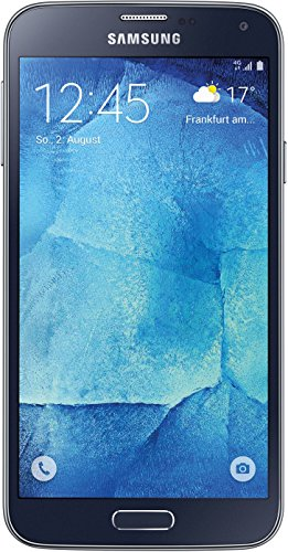 Samsung Galaxy S5 neo Smartphone (5,1 Zoll (12,9 cm) Touch-Display, 16 GB Speicher, Android 5.1) schwarz - 4 Fall Galaxy S4 Max