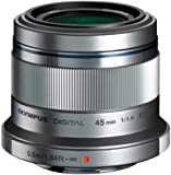 Olympus M.ZUIKO DIGITAL 45mm 1:1.8 Lens - Silver