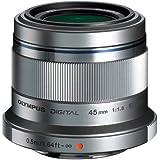 Olympus Objectif  Zuiko Digital 45 mm 1.8 - Argent