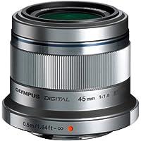 Olympus M.ZUIKO DIGITAL 45mm 1:1.8 Lens - Silver