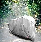 Freizeitmöbel Abdeckung Fahrradabdeckung Regen- und staubdicht Sonnencreme CoverWaterproof Windproof Outdoor Furniture Cover (Farbe : Sliver+Black, größe : 180x60x90cm)