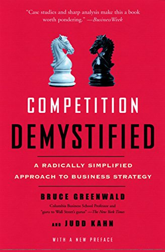 Competition Demystified: A Radically Simplified Approach to Business Strategy por Bruce C. N. Greenwald
