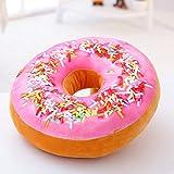 VERCART Coussin 3D Donut Oreiller Créatif pour Lit Canapé Fauteuil Jouet Peluche...
