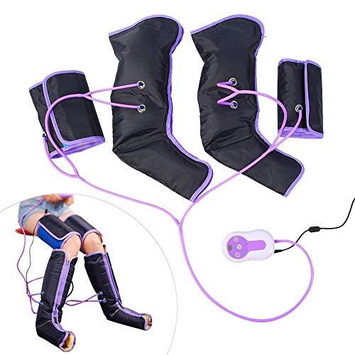 Kompression Bein (Kompressionsmassagegerät für die Beine, Luftkompresse, Blut- und Lymphsystem, Regenbogenstiefel)